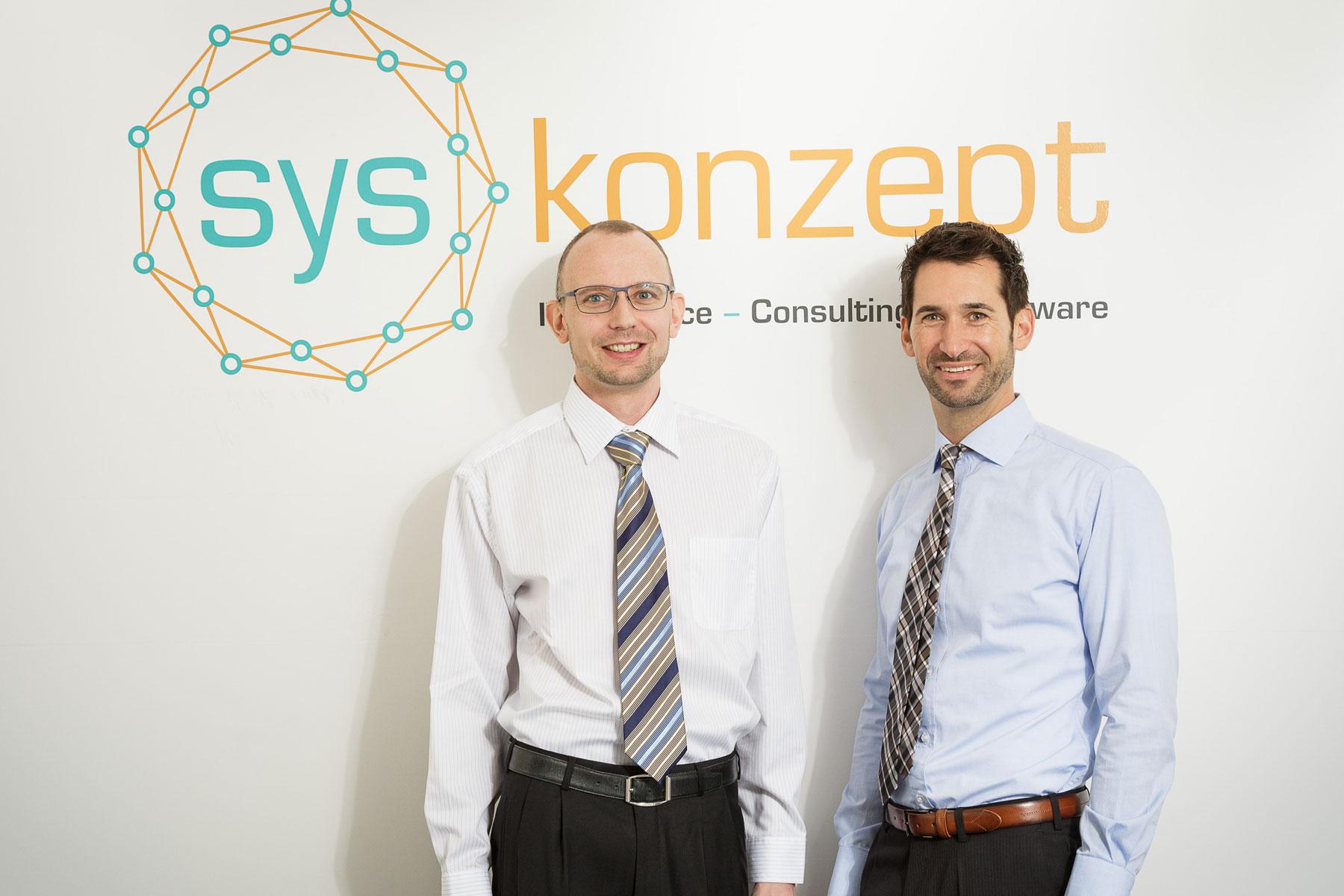 syskonzept Management: Alexander Crusius und Andreas Schaller (v.l.n.r.)